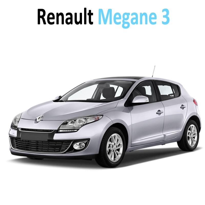 Pack led full interieur ext rieur renault m gane 3 for Retroviseur exterieur megane 3