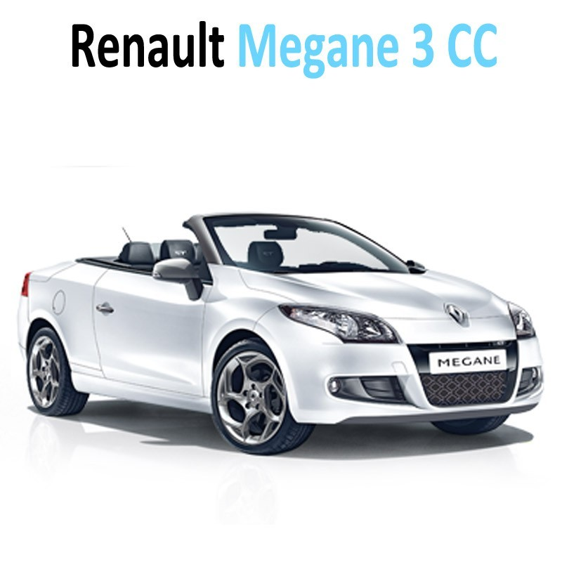 pack int rieur led pour renault megane 3 cc led auto. Black Bedroom Furniture Sets. Home Design Ideas