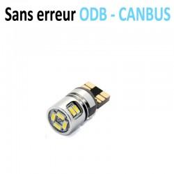 Ampoule led T10 W5W - (10SMD-3104) - Anti Erreur ODB