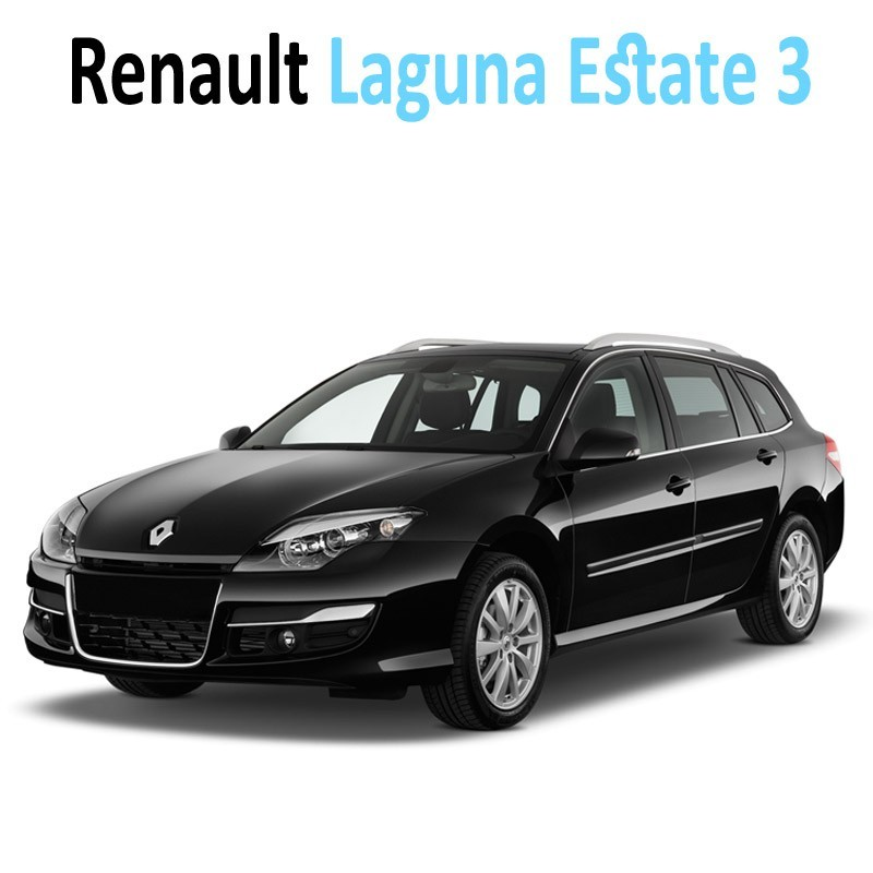 pack int rieur led pour renault laguna estate 3 led auto. Black Bedroom Furniture Sets. Home Design Ideas