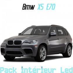 Pack Led interieur BMW X5 E70