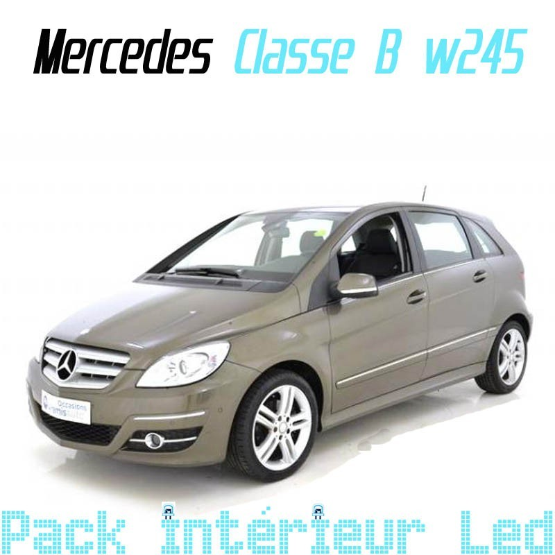 pack int rieur led pour mercedes classe b w245 led auto discount. Black Bedroom Furniture Sets. Home Design Ideas