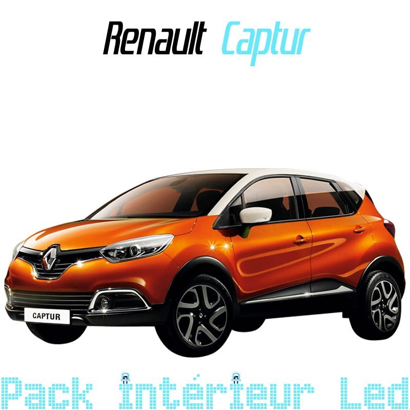 pack int rieur led pour renault captur led auto discount. Black Bedroom Furniture Sets. Home Design Ideas