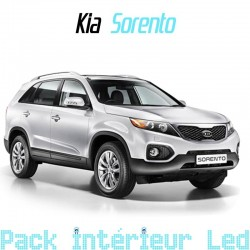 pack int rieur led pour kia sorento 2 led auto discount. Black Bedroom Furniture Sets. Home Design Ideas