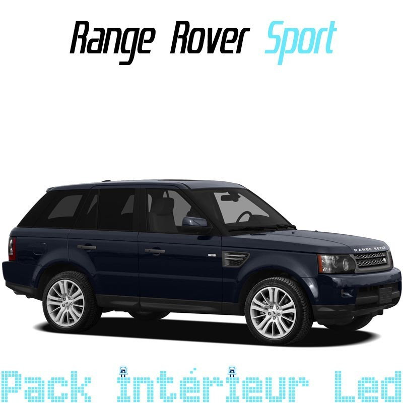 pack int rieur led pour range rover sport led auto discount. Black Bedroom Furniture Sets. Home Design Ideas
