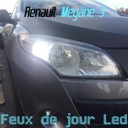 Pack feux de jour Led pour Renault Megane 3