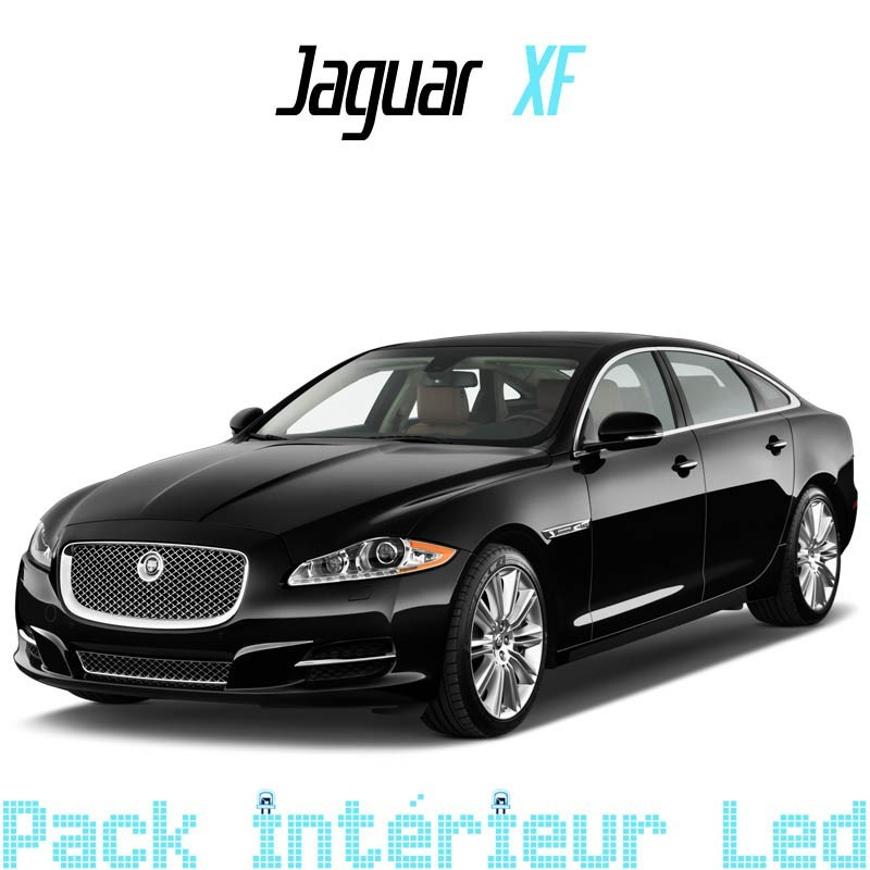 pack int rieur led pour jaguar xf led auto discount. Black Bedroom Furniture Sets. Home Design Ideas