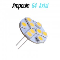 Ampoule led G4 Axial - (9SMD)