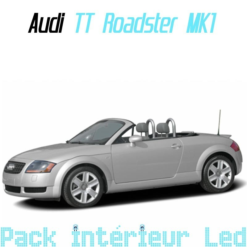 pack int rieur led pour audi tt roadster mk1 led auto discount. Black Bedroom Furniture Sets. Home Design Ideas