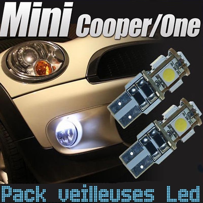 pack ampoules veilleuses led pour mini led auto discount. Black Bedroom Furniture Sets. Home Design Ideas