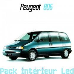Pack int rieur ext rieur led peugeot 806 led auto discount for Interieur 806