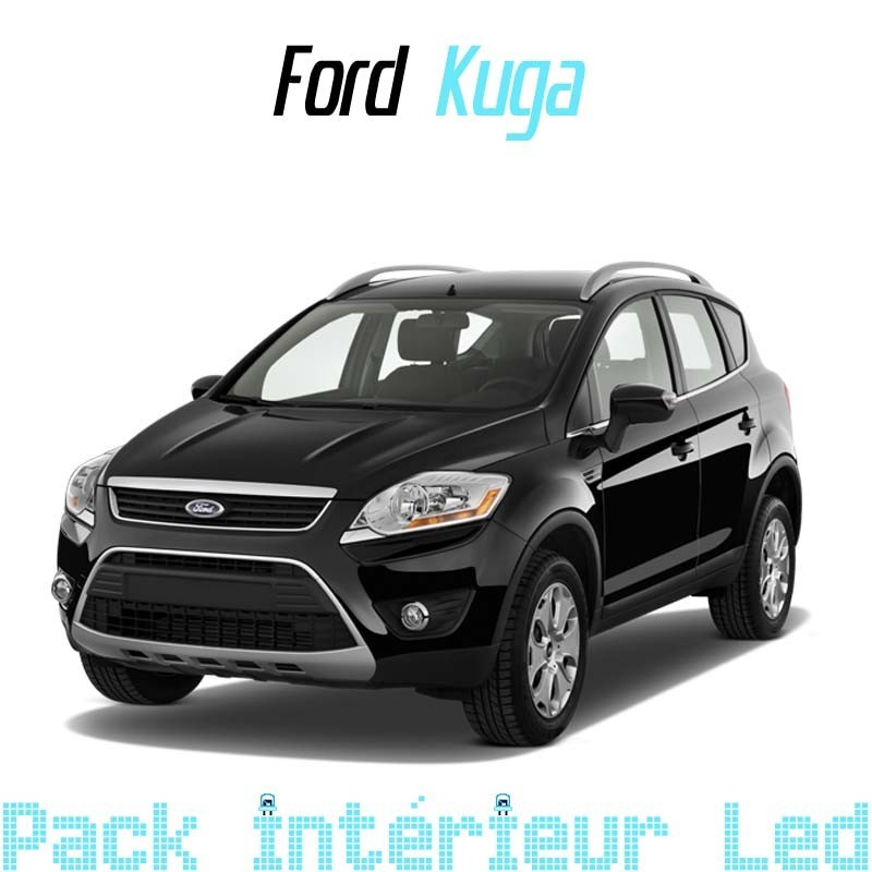 pack int rieur led pour ford kuga 1 led auto discount. Black Bedroom Furniture Sets. Home Design Ideas