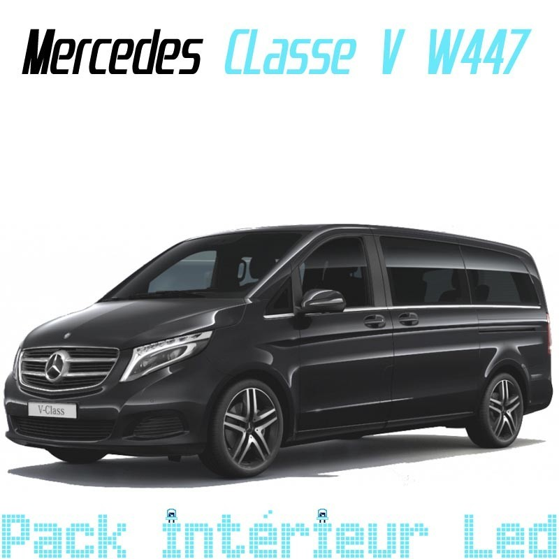 pack int rieur led pour mercedes viano w447 led auto discount. Black Bedroom Furniture Sets. Home Design Ideas