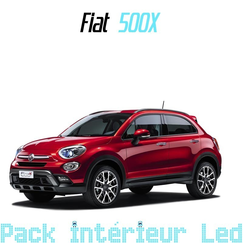 pack int rieur led pour fiat 500x led auto discount. Black Bedroom Furniture Sets. Home Design Ideas