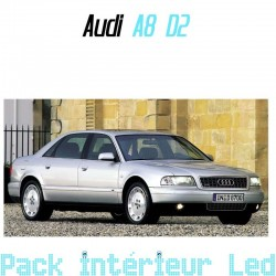Pack Full Led intérieur Audi A8 D3