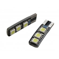 Ampoule led T10 W5W - (6SMD-2FACE)