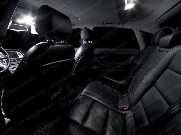 pack int rieur led pour audi a6 c6 break rs6 led auto discount. Black Bedroom Furniture Sets. Home Design Ideas