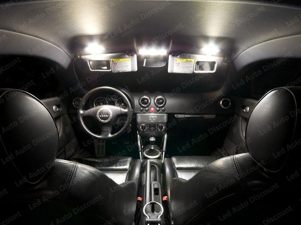 Pack int rieur led pour audi tt mk1 led auto discount for Audi tt 8n interieur tuning