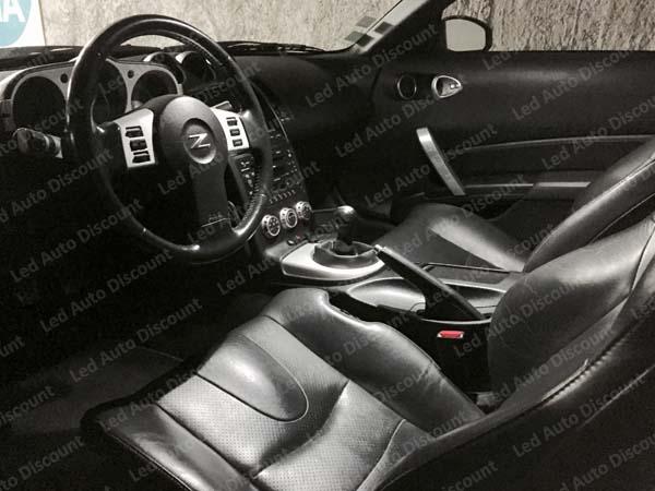 pack int rieur led pour nissan 350z led auto discount. Black Bedroom Furniture Sets. Home Design Ideas