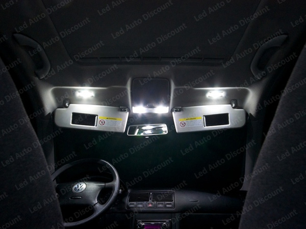 Pack int rieur led pour volkswagen golf 4 led auto discount for Interieur golf 4