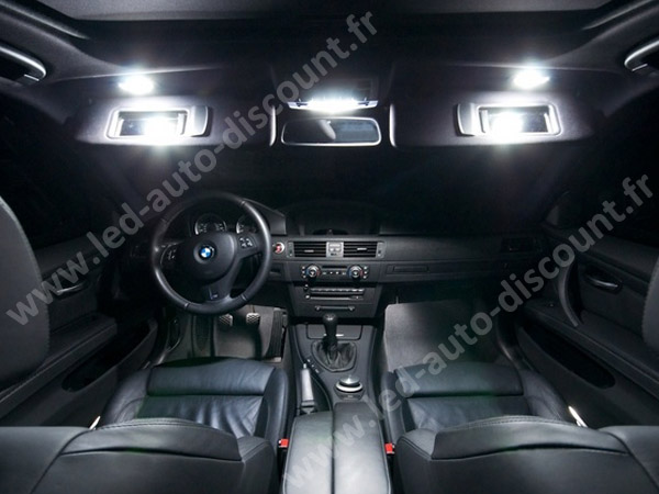 pack int rieur led pour bmw s rie 3 e92 led auto discount. Black Bedroom Furniture Sets. Home Design Ideas