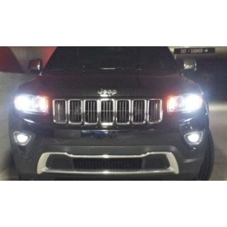 Pack ampoules veilleuses led pour Jeep