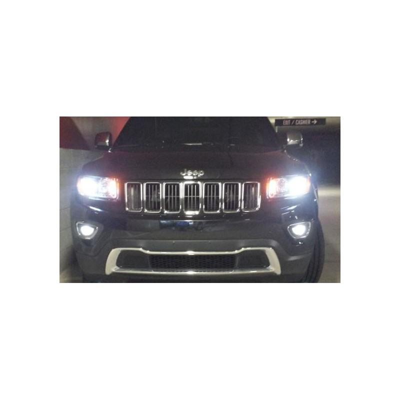 Pack ampoules veilleuses leds pour Jeep