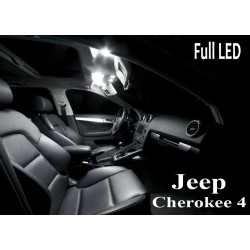 Pack Full Led interieur extérieur Jeep Cherokee 4