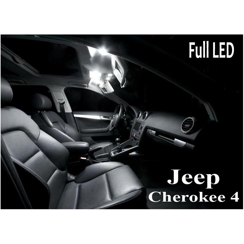 Pack Full Led interieur extérieur Jeep Cherokee 4