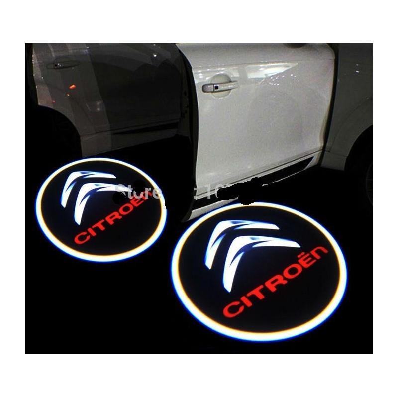 Module éclairage bas de portes LOGO LED pour Citroen