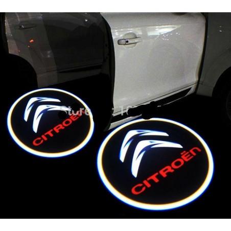 Module éclairage bas de portes LOGO LED pour Citroën