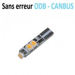 Ampoule Led T5 W5W - 5 SMD 3528