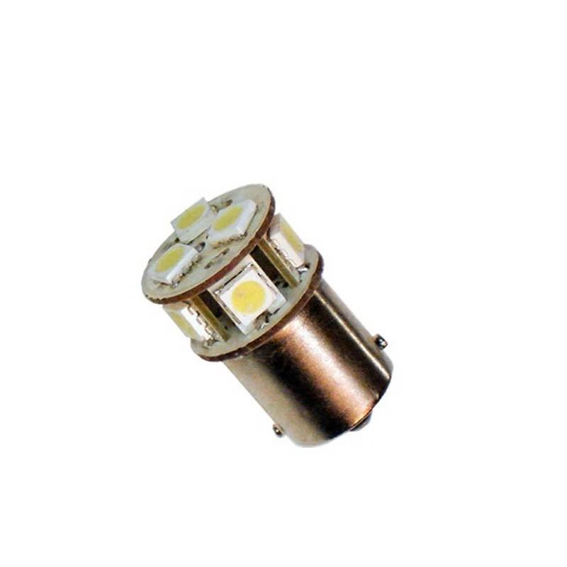 Ampoule Led P21/W Ba15s - (8SMD) - Blanc