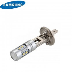Ampoule LED H1 (10SMD 2323 Samsung) Blanc Effet Xenon