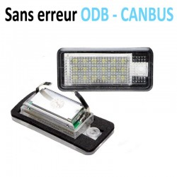 Pack modules de plaque led pour Audi A3 A4 A6 A8 Q7 RS4 RS6