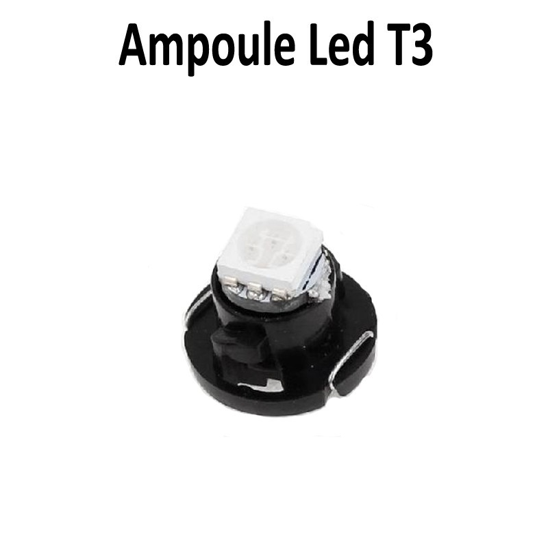 Ampoule led T3 T4.2 T4.7 sur support