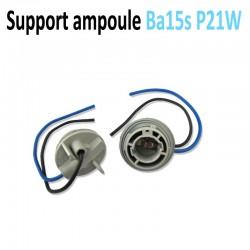 Support ampoule Ba15s - 1156 - P21w