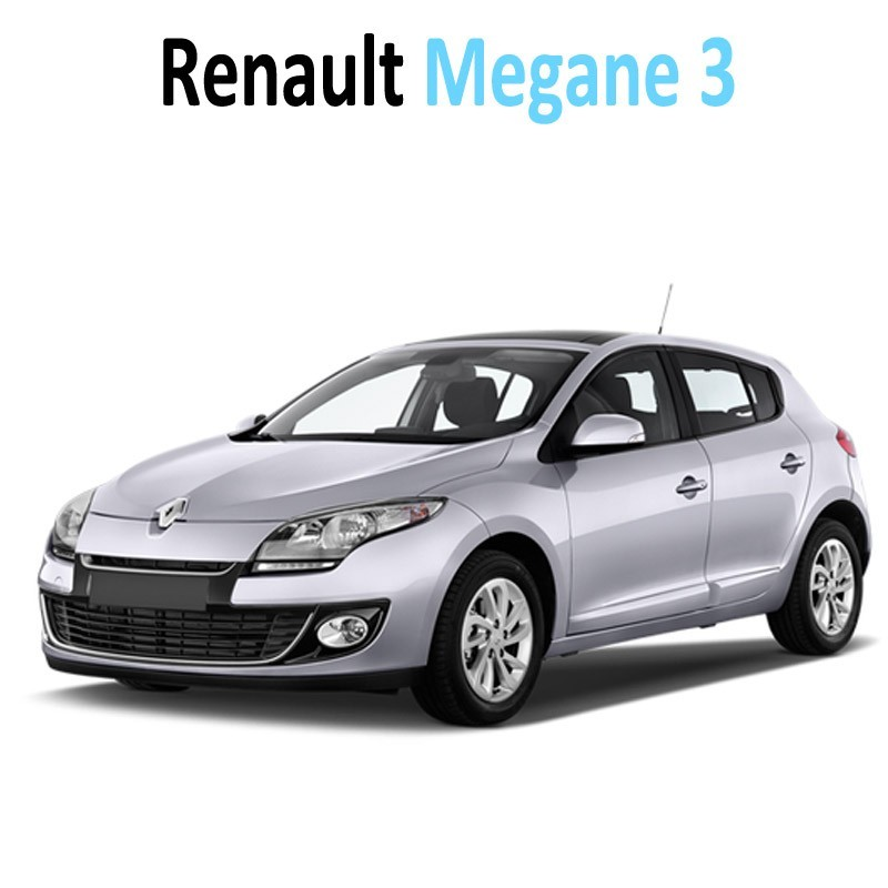 pack int rieur led pour renault megane 3 led auto discount. Black Bedroom Furniture Sets. Home Design Ideas