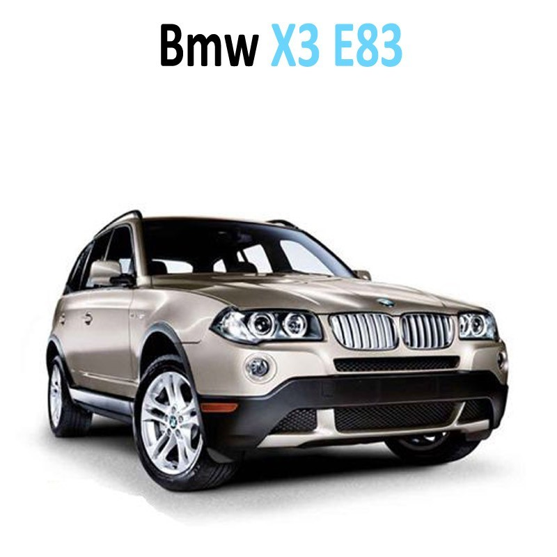 Pack Led interieur BMW X3 E83