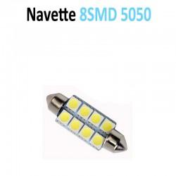 Ampoule Navette Led 8 SMD 5050