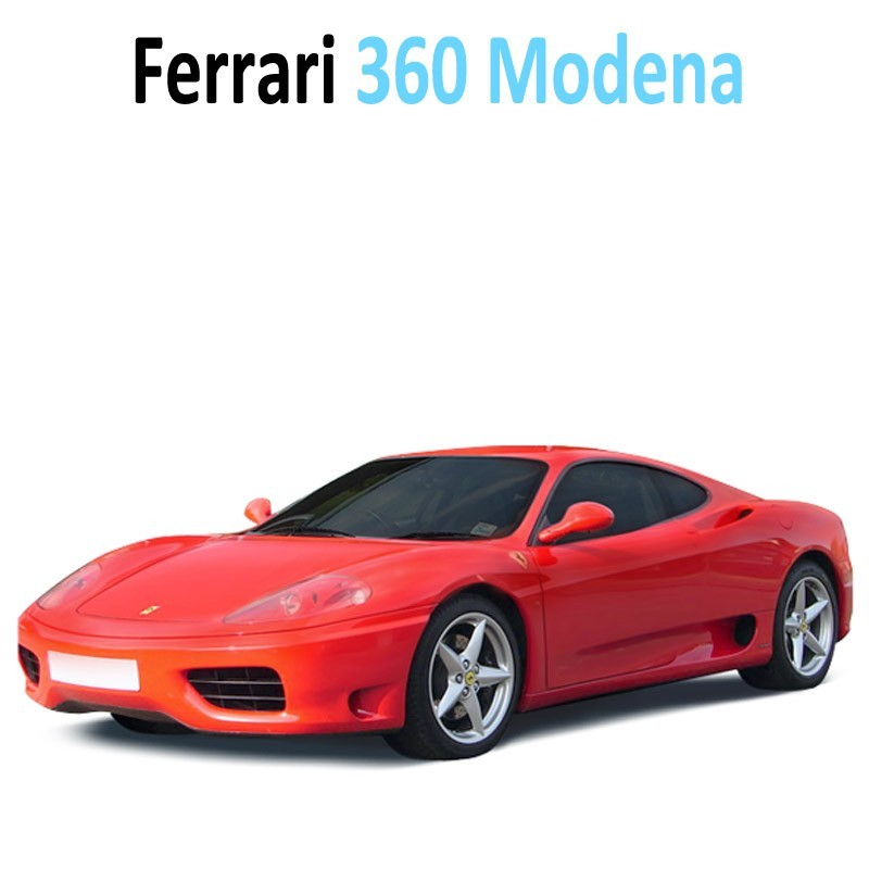 Pack Intérieur led ferrari 360 Modena