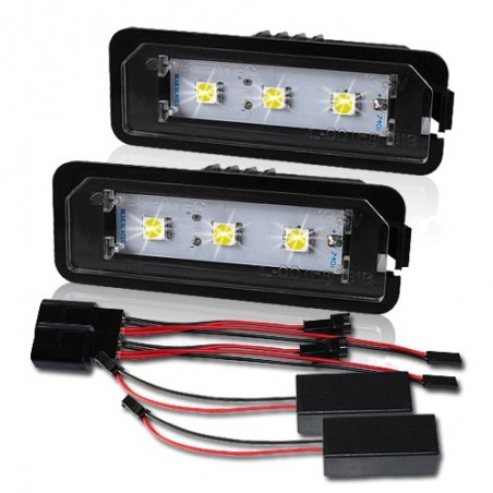 Pack modules de plaque led pour Volkswagen CC EOS PASSAT POLO PHAETON GOLF 4 5 6 7
