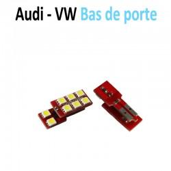 Ampoule led ultimate bas de portes Audi Volkswagen