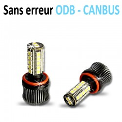 Pack antibrouillards led H8 (27SMD-5050) CANBUS