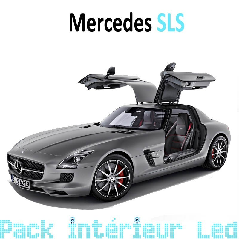 Pack Full Led Interieur Mercedes SLS