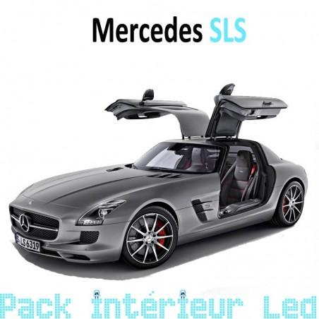 Pack intérieur led pour Mercedes SLS