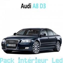 Pack intérieur led pour Audi A8 D3