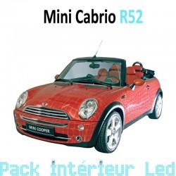 Pack intérieur led pour Mini Cabriolet R52
