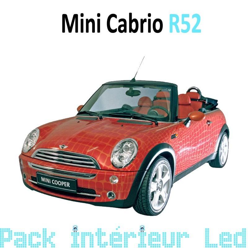 Pack led Intérieur Exterieur Mini Cabriolet R52