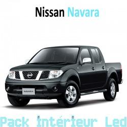 Pack intérieur led pour Nissan Navara